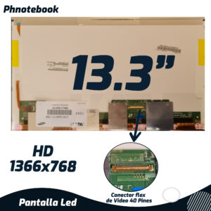 PANTALLA LED 13.3″ 40 PINES LP133WH1(TL)(D1) 1366*768
