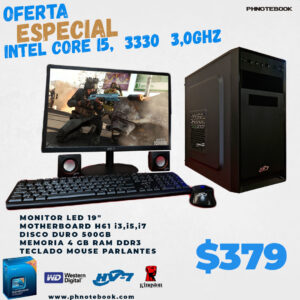 INTEL CORE I5,  3330  3,0GHZ