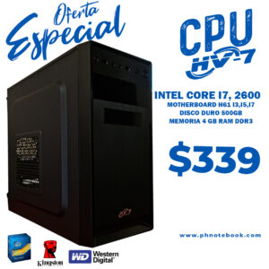 INTEL CORE I7, 2600- 3,4GHZ