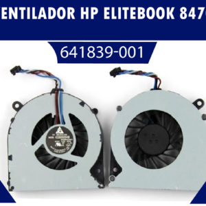 VENTILADOR HP ELITEBOOK 8460 W 8470P 6460b    641839-001