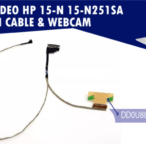 FLEX DE VIDEO HP 15-N 15-N251SA LCD SCREEN CABLE & WEBCAM   DD0U88LC210