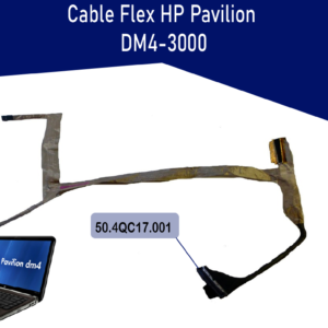 FLEX DE VIDEO HP PAVILION DM4-3000 DM4-3070   50.4QC17.001