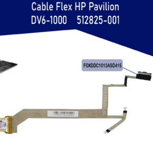 FLEX DE VIDEO HP PAVILION DV6-1000 512825-001   FOXDDC1013ASD415