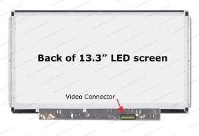 PANTALLA LED SLIM DE 13.3″ DE 30 PINES N133BGE-E31 REV.C1  HD (1366×768)