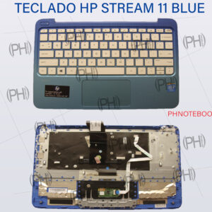 TECLADO  HP STREAM 11 BLUE  EN INGLES