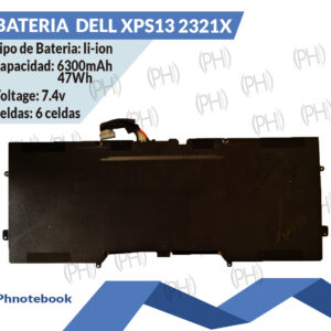 Bateria  DELL XPS13 2321X
