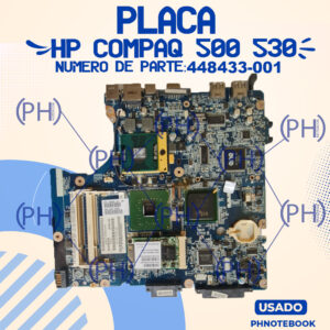 Placa Madre con HP COMPAQ 500 530