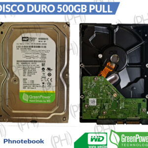 Disco Duro Pull Wester Digital Green500gb
