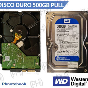 Disco Duro Pull Wester Digital Blue 500gb