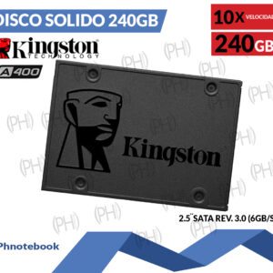Disco Solido 240Gb Kingston
