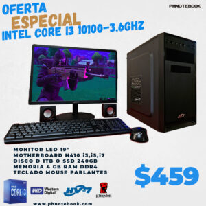 INTEL CORE I3 10100-3.6GHZ