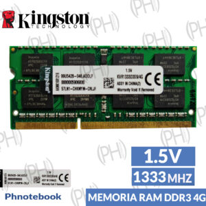 Laptop Memoria Ram DDR3 4GB